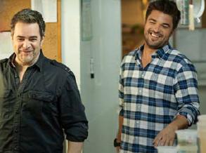 Sylvain Cossette et Louis-François Marcotte