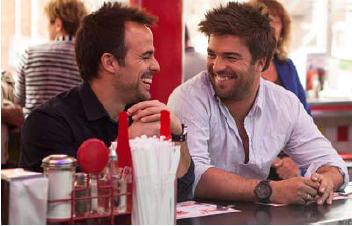 Sébastien Benoît et Louis-François Marcotte