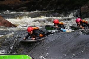 La luge d'eau à Rafting ValCartier