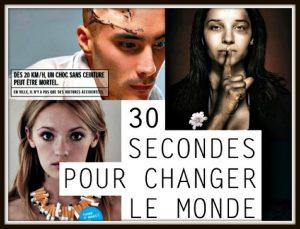 30 secondes pour changer le monde-affiche