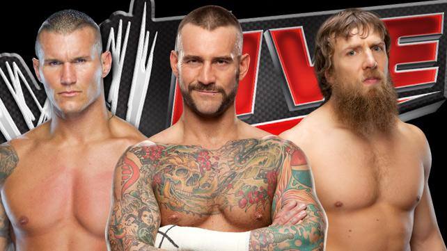 Randy Orton,Punk, Daniel Bryan