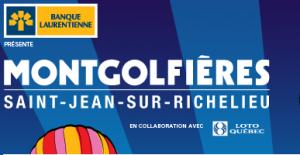 30e édition de l'International de montgolfières de Saint-Jean-sur-Richelieu