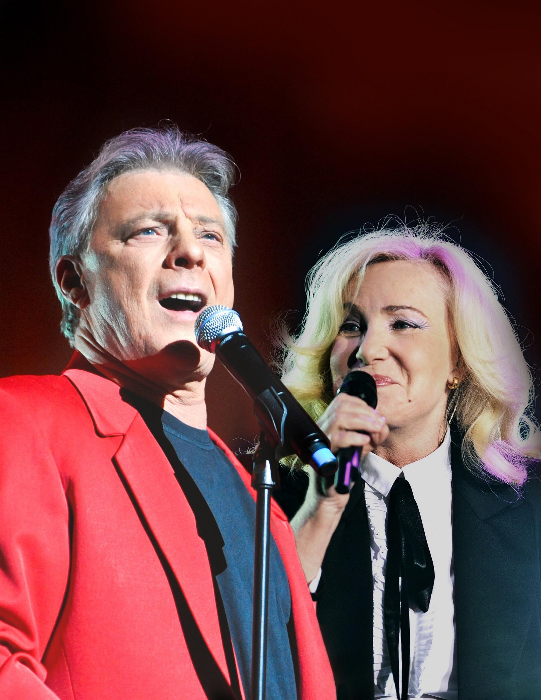 Herbert Léonard et Michèle Torr,