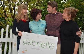 Louise Archambault, Gabrielle Marion-Rivard, Alexandre Landry et Marie Gignac