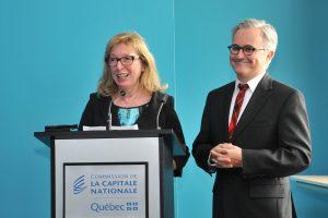 Marie-Ginette Guay et Bertrand Alain