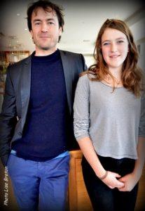 Sébastien Ricard et Ariane Legault