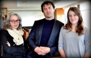 Catherine Martin, Sébastien Ricard et Ariane Legault
