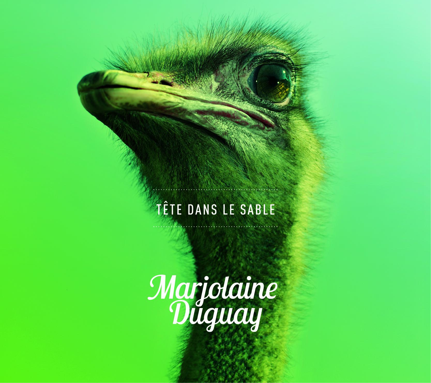 Marjolaine Duguay-Tête dans le sable