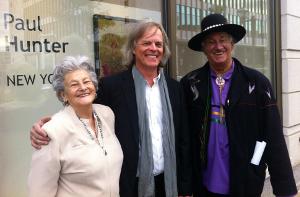 Paul Hunter à la galerie d'art Michel Guimont