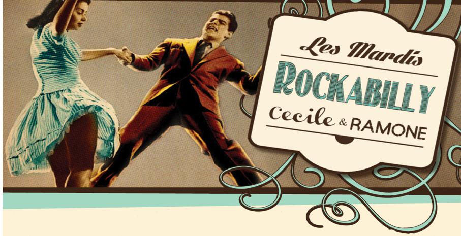 Les mardi Rockabilly chez Cécile & Ramone !