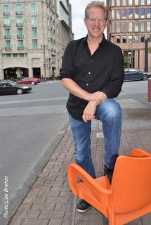 François Massicotte dans les rues de Québec!