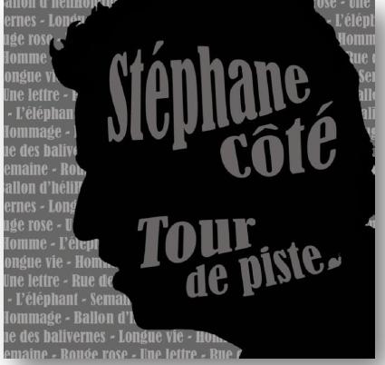 5e album de Stéphane Côté le 25 septembre 2013