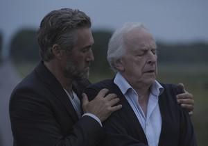 Roy Dupuis et Marcel Sabourin dans le film L'Autre Maison