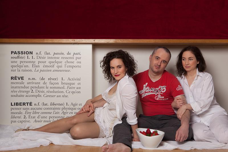 Véronique Côté,Hugues Frenette,et Sylvie Cantin