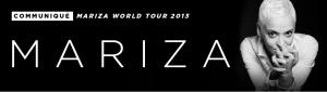 Mariza World Tour 2013