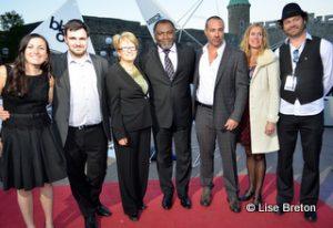 Marie-Christine Laflamme, Christopher Lemonnier, Agnès Maltais, Maka Kotto, Peter Landesman, Julie Lemieux et Olivier Bilodeau