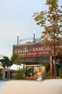 Extérieur du restaurant Cécile et Ramone