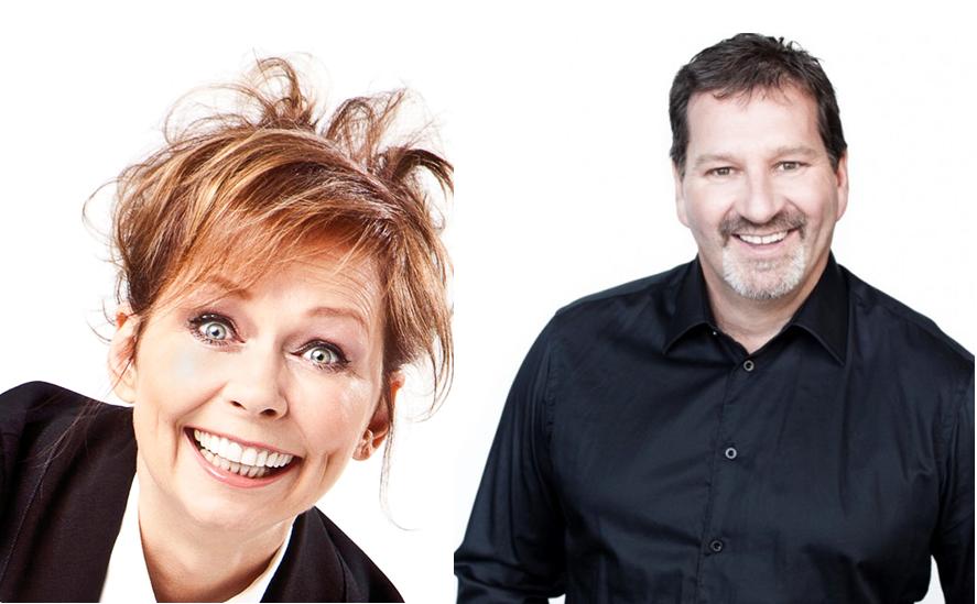 Claudine Mercier et Mario Jean