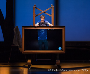Luc Langevin, illusionniste