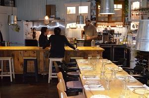 Le Pied Bleu-salle à manger