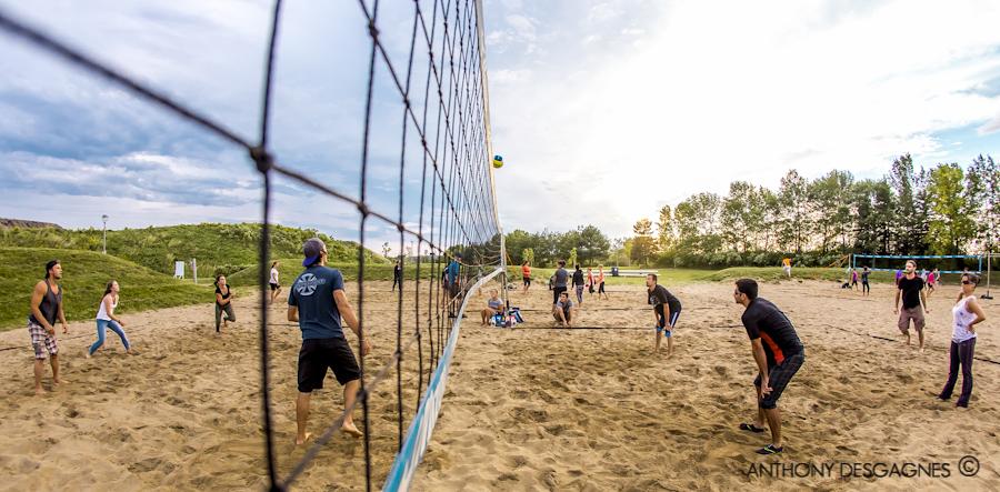 Volley-Ball à la Baie de Beauport
