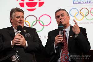 Jean Pagé et Paul Houde de TVA Sports