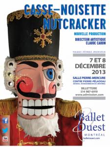 Ballet Ouest de Montréal : une nouvelle création de Casse-Noisette