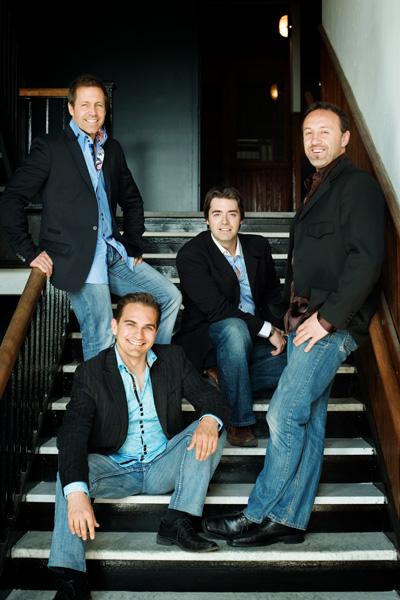 Patrick Olafson, Benoît Miron, Dany Laliberté, René Lajoie