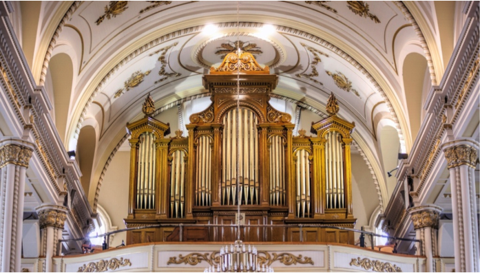 l'orgue Casavant de St-Joseph