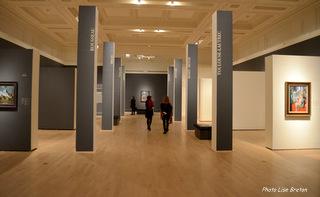 Une des deux salles pour la collection Williams.Paley