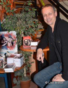 Denis-Martin Chabot lors du lancement de son livre