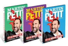 DVD et en CD, Martin Petit et le micro de feu,