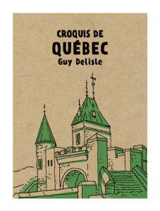 Couverture du livre Croquis de Québec