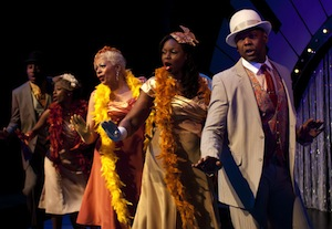 Ain't Misbehavin' (de gauche à droite Jonathan Emile, Aiza Ntibarikure, Kim Richardson, Toya Alexis, Michael-Lamont Lytle)