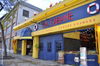 La Cabane au  115 quai Saint-André Vieux-Port de Québec