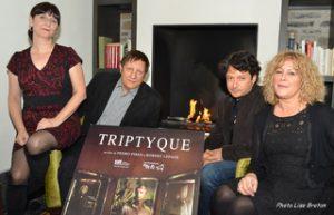 Lise Castonguay, Robert Lepage, Pedro Pires et Frédérike Bédard