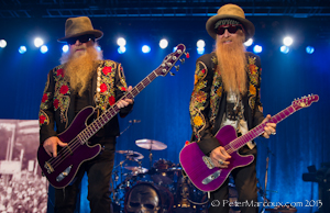 ZZ Top et leurs longues barbes