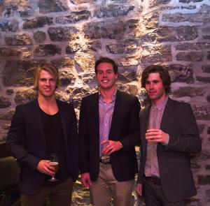 Simon-Pierre Côté, Maxime Gagnon et Nicolas Brassard, co-propriétaires La RAFFINERIE