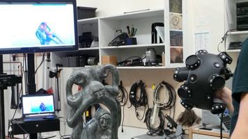 L'une des équipes du Museomix 2013 a numérisé en 3D un artefact (une sculpture Inuit) que les visiteurs pouvaient «  manipuler » virtuellement l'objet.