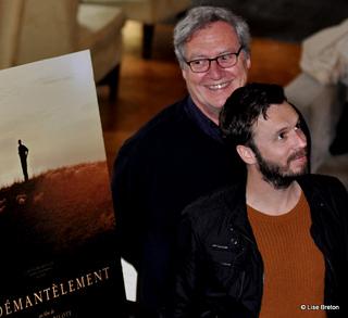 Le producteur Marc Daigle et le réalisateur Sébastien Pilote