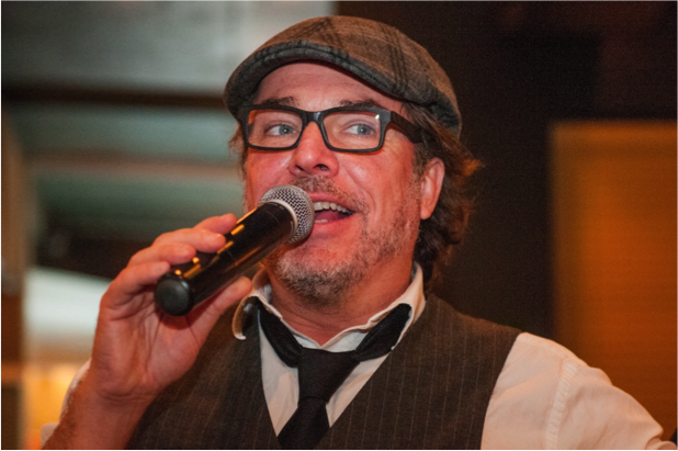 Christian Bégin, comédien et animateur  de la soirée pour une troisième année consécutive