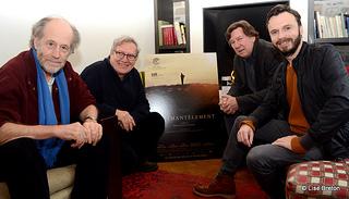 Gabriel Arcand, Marc Daigle, Gilles Renaud et Sébastien Pilote