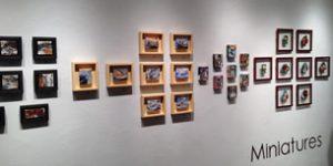 Exposition Miniatures à L'espace contemporain