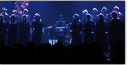 Spectacle de Noël de L'Ensemble Gospel de Québec