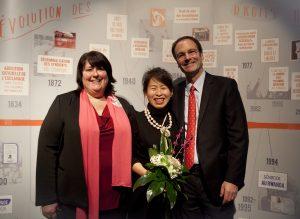 Prix de la tolérance Paul-Gérin-Lajoie remis à Kim Thùy