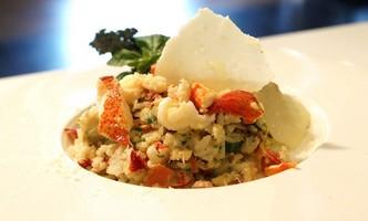 le risotto au homard du Montego Resto