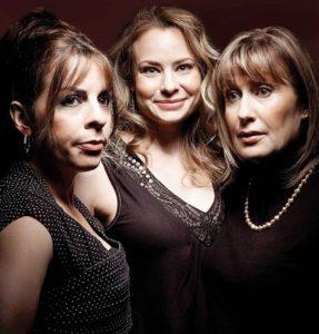 Anne Casabonne, Catherine-Anne Toupin, Linda Sorgini