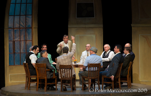 12 hommes en colère à la salle Albert-Rousseau