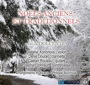 Noëls anciens et traditionnels un CD du groupe La Dolce Vita