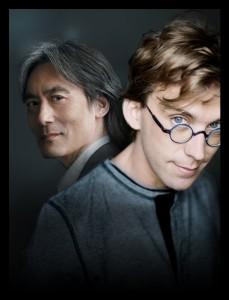 Maestro Kent Nagano et Fred Pellerin